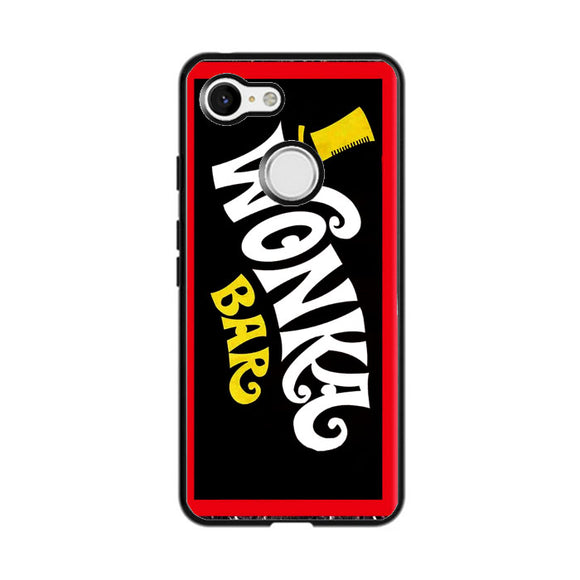 Wonka Chocolate Bar With Golden Ticket Google Pixel 3 XL Case | Frostedcase