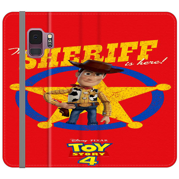Woody The Sheriff Toy Story 4 Samsung Galaxy S9 Flip Case | Frostedcase