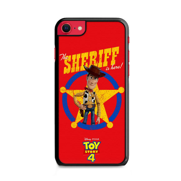 Woody The Sheriff Toy Story 4 iPhone SE Case | Frostedcase