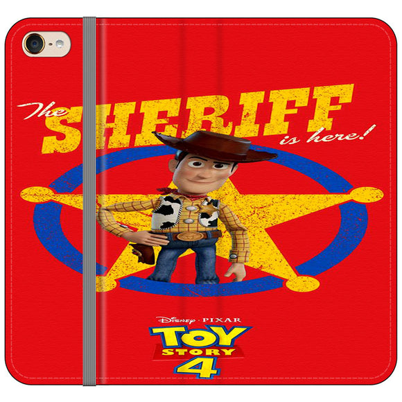 Woody The Sheriff Toy Story 4 iPod 6 Flip Case | Frostedcase