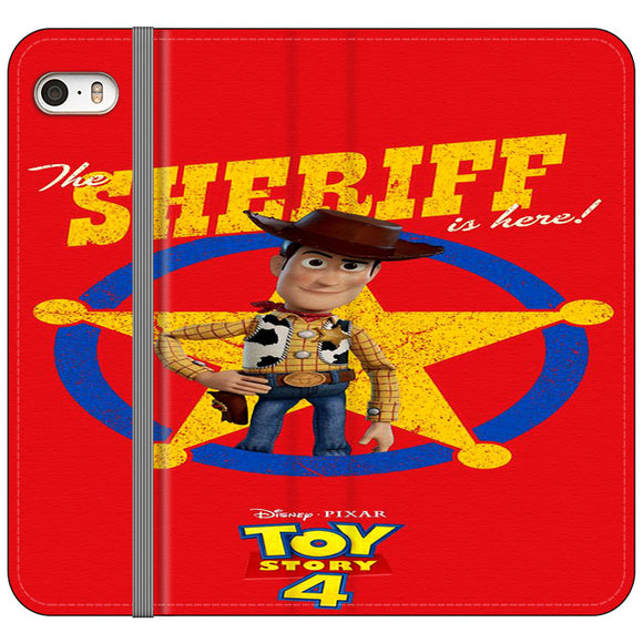 Woody The Sheriff Toy Story 4 iPhone 5|5S|SE Flip Case | Frostedcase