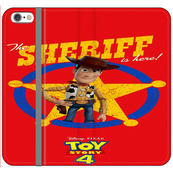 Woody The Sheriff Toy Story 4 iPhone 6 Plus|6S Plus Flip Case | Frostedcase
