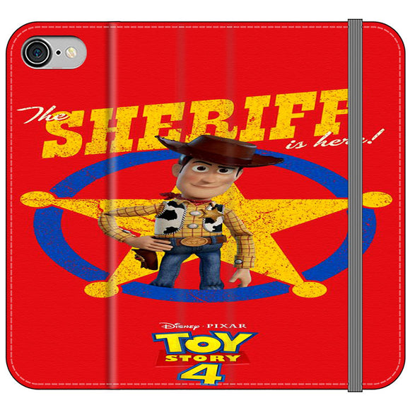 Woody The Sheriff Toy Story 4 iPhone 7 Flip Case | Frostedcase