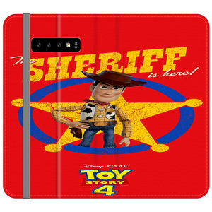 Woody The Sheriff Toy Story 4 Samsung Galaxy S10e Flip Case | Frostedcase