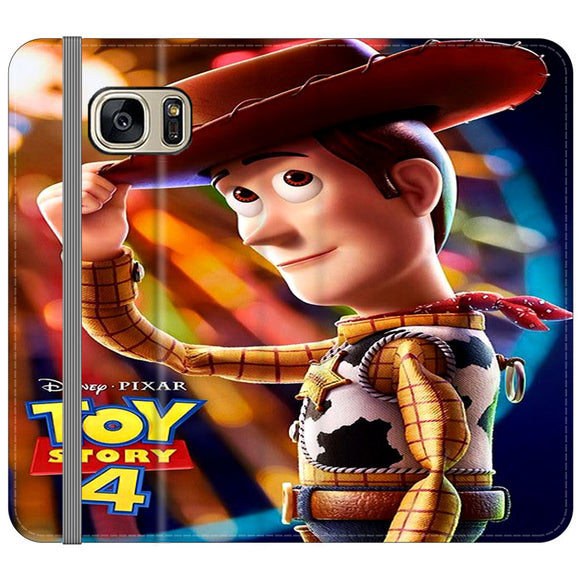 Woody Toy Story 4 Samsung Galaxy S7 EDGE Flip Case | Frostedcase