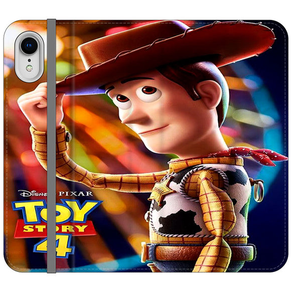 Woody Toy Story 4 iPhone XR Flip Case | Frostedcase