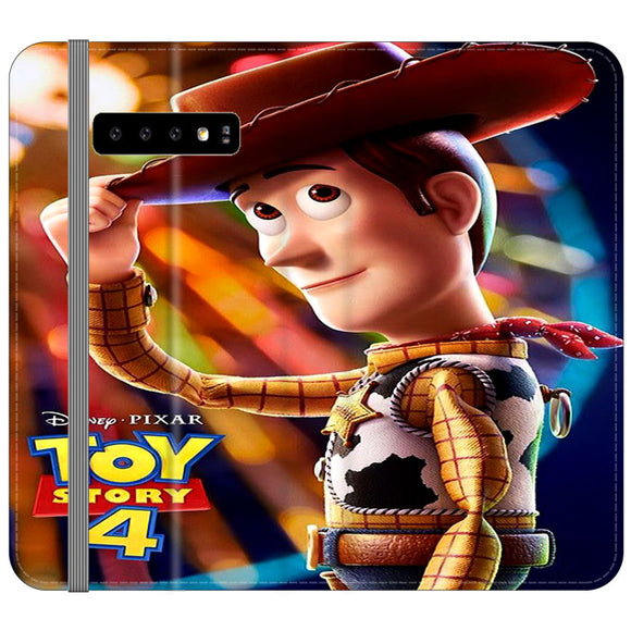 Woody Toy Story 4 Samsung Galaxy S10 Plus Flip Case | Frostedcase