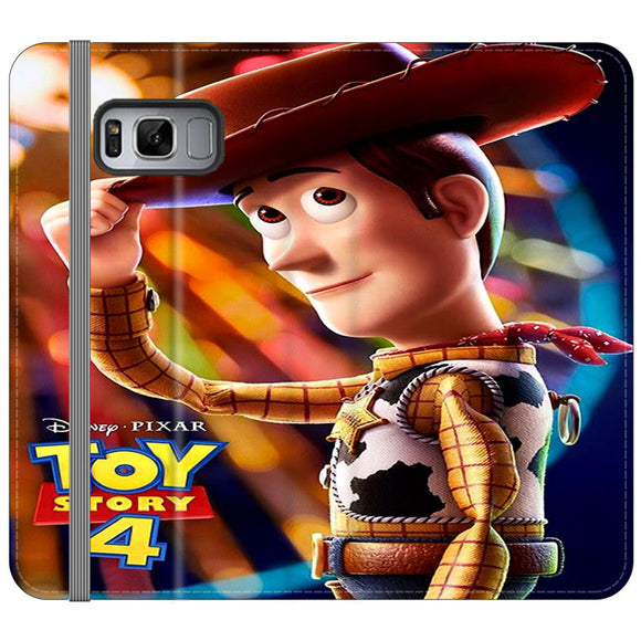 Woody Toy Story 4 Samsung Galaxy S8 Flip Case | Frostedcase