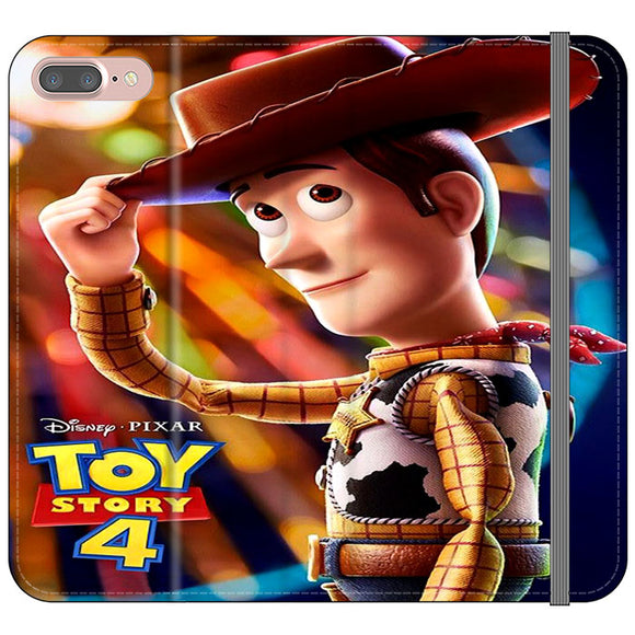 Woody Toy Story 4 iPhone 8 Plus Flip Case | Frostedcase