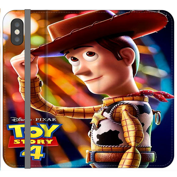 Woody Toy Story 4 iPhone X Flip Case | Frostedcase