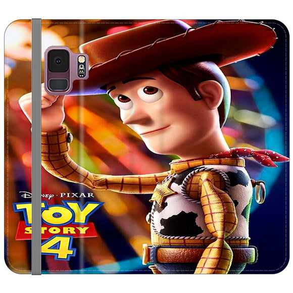 Woody Toy Story 4 Samsung Galaxy S9 Flip Case | Frostedcase