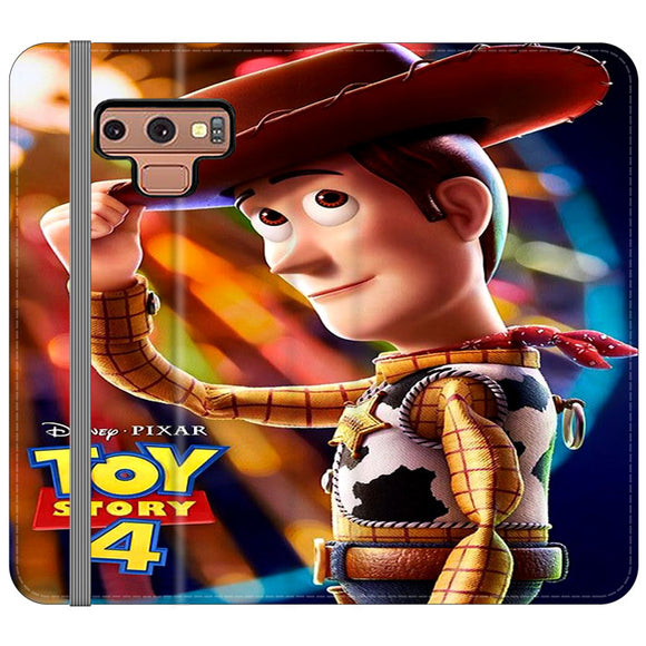 Woody Toy Story 4 Samsung Galaxy Note 9 Flip Case | Frostedcase