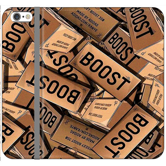 Yeezy Boost 700 Box Pattern iPhone 6 Plus|6S Plus Flip Case | Frostedcase