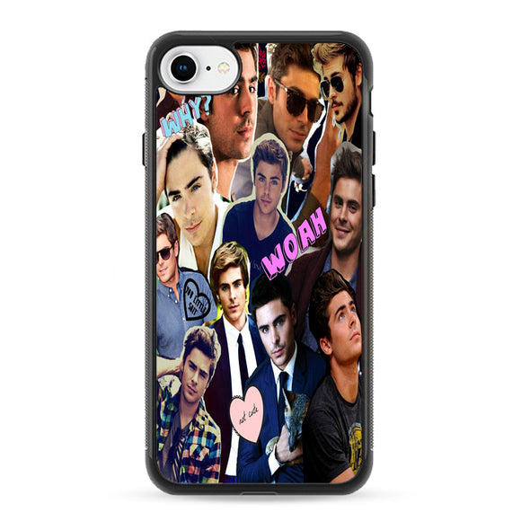 Zac Efron Collection Style iPhone 8 Case | Frostedcase