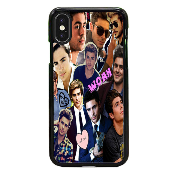 Zac Efron Collection Style iPhone XS Case | Frostedcase