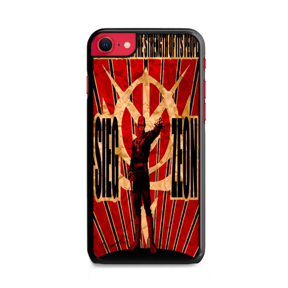 Zeon Thirsts For The Strength Of Its People Peaper iPhone SE Case | Frostedcase