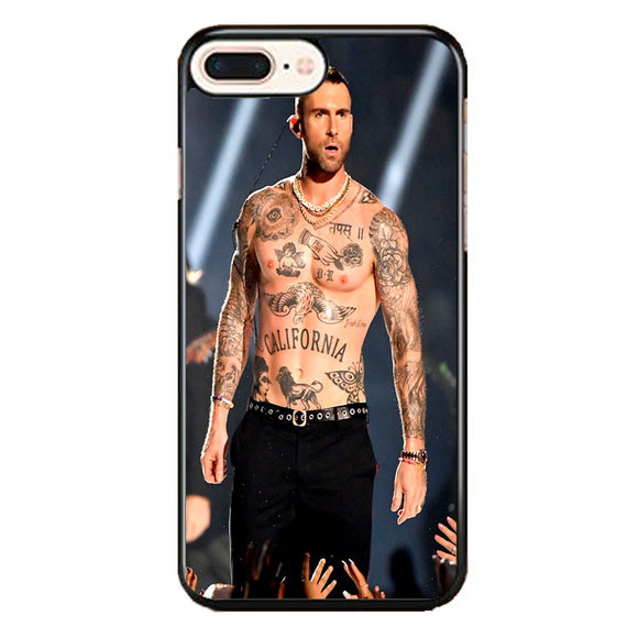Adam Levine Concert iPhone 8 Plus Case | Frostedcase