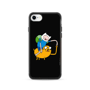 Adventure Time Black iPhone 8 Case | Frostedcase