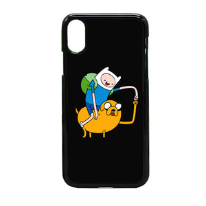 Adventure Time Black iPhone X Case | Frostedcase