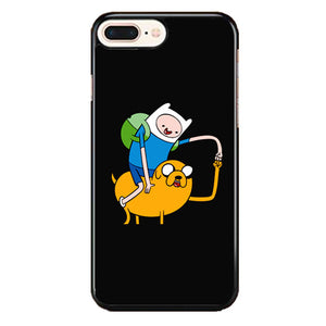 Adventure Time Black iPhone 8 Plus Case | Frostedcase