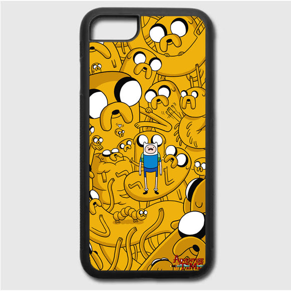 Adventure Time Doodle iPhone 7 Case | Frostedcase