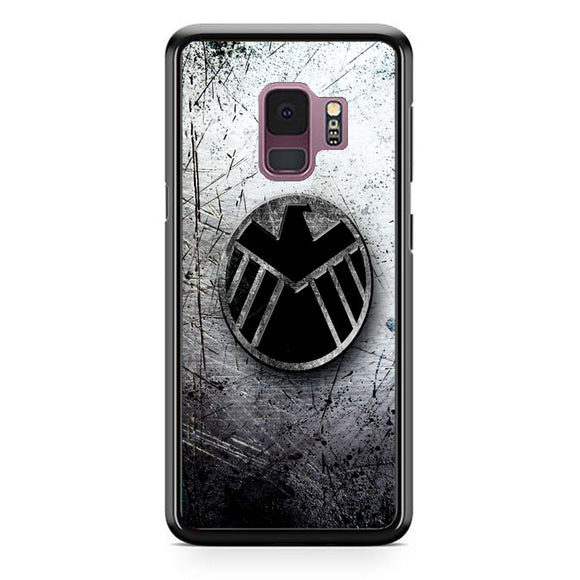 Agents Of Shield 3D Wall Samsung Galaxy S9 Case | Frostedcase