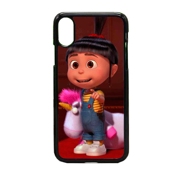 Agnes Despicable Me iPhone X Case | Frostedcase
