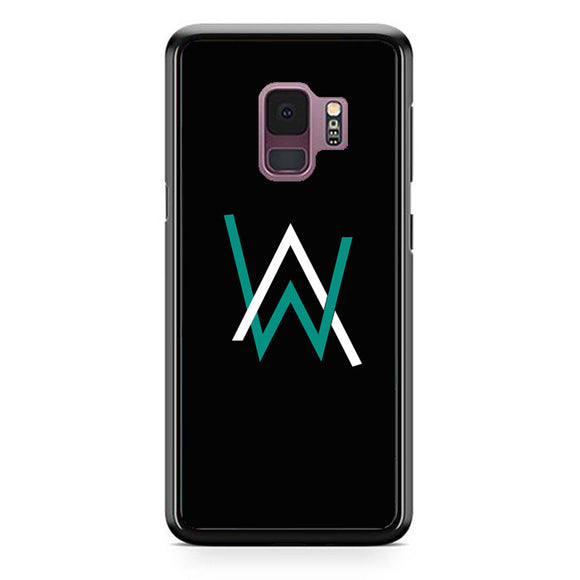 Alan Walker Logo Samsung Galaxy S9 Case | Frostedcase