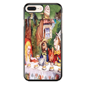 Alice In Wonderland Mad Hatters iPhone 8 Plus Case | Frostedcase