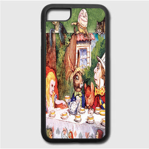 Alice In Wonderland Mad Hatters iPhone 7 Case | Frostedcase