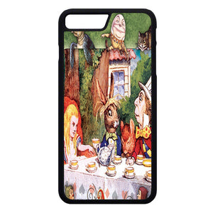 Alice In Wonderland Mad Hatters iPhone 7 Plus Case | Frostedcase