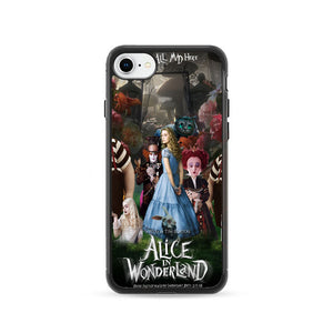 Alice In Wonderland Poster iPhone 8 Case | Frostedcase