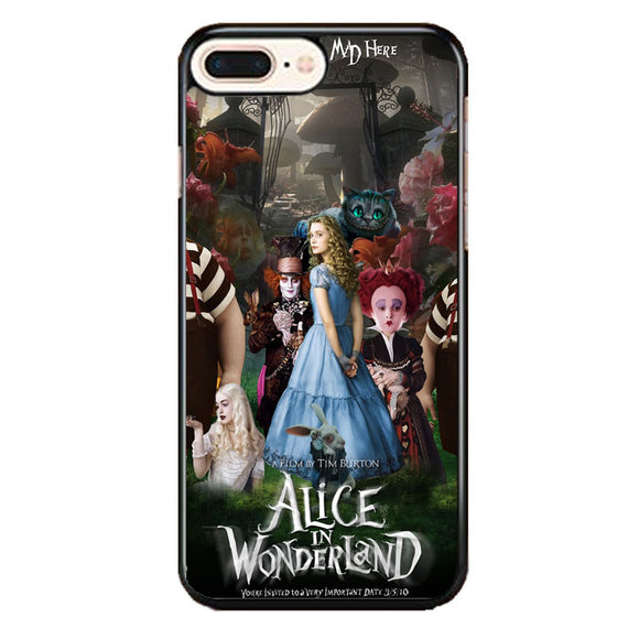Alice In Wonderland Poster iPhone 8 Plus Case | Frostedcase