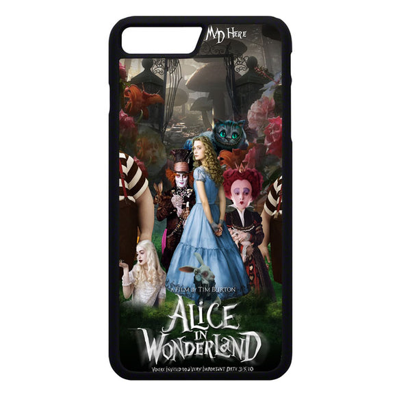 Alice In Wonderland Poster iPhone 7 Plus Case | Frostedcase