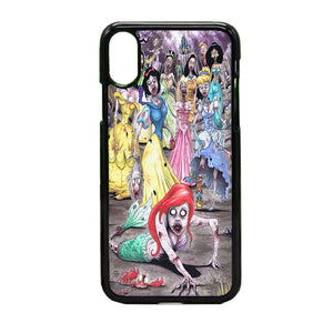 All Princess Disney Zombie iPhone X Case | Frostedcase