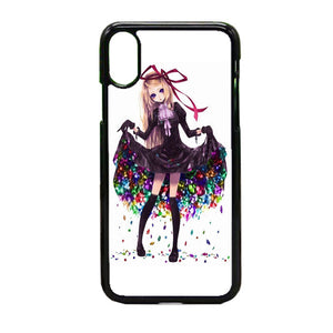 Anime Dress Girl iPhone X Case | Frostedcase