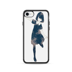 Anime Girl Skect iPhone 8 Case | Frostedcase