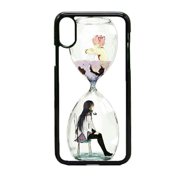 Anime Girl In Glass Bottle iPhone X Case | Frostedcase