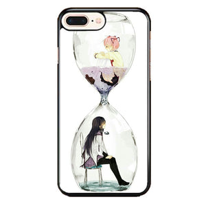 Anime Girl In Glass Bottle iPhone 8 Plus Case | Frostedcase