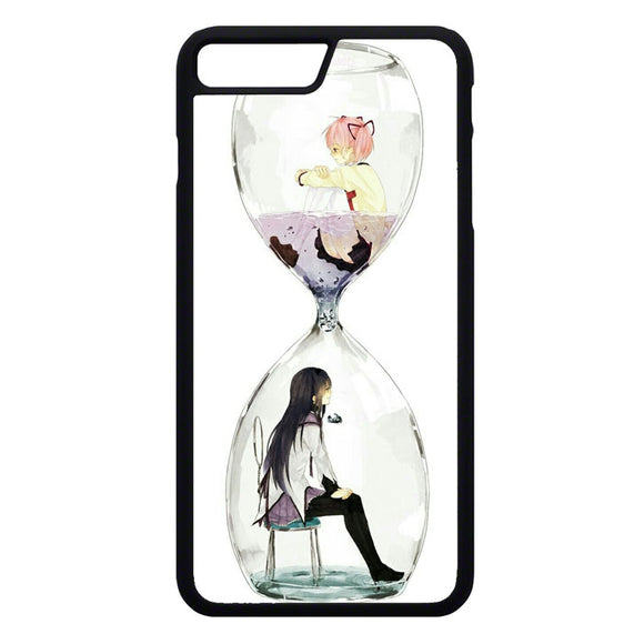 Anime Girl In Glass Bottle iPhone 7 Plus Case | Frostedcase