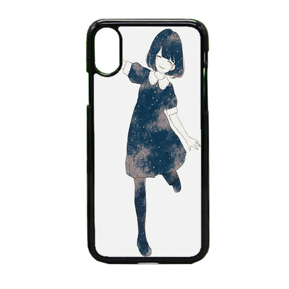 Anime Girl iPhone X Case | Frostedcase