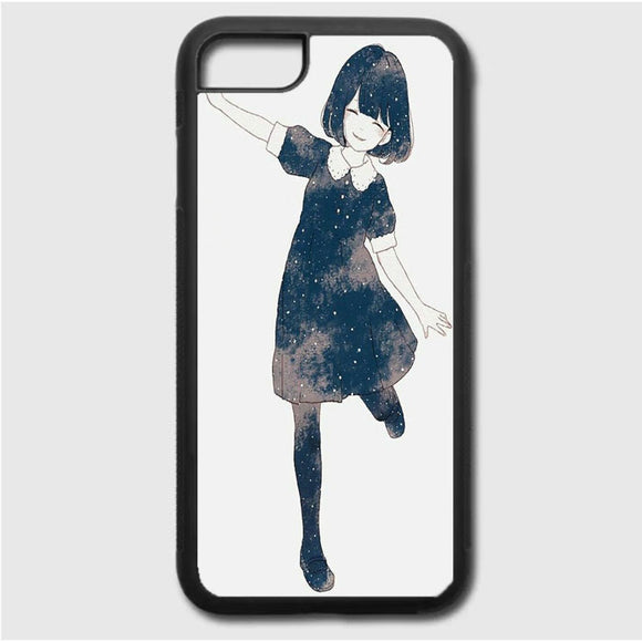 Anime Girl iPhone 7 Case | Frostedcase