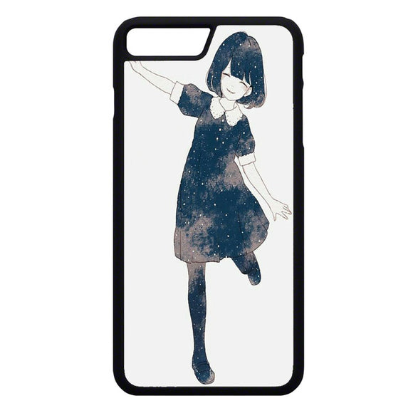 Anime Girl iPhone 7 Plus Case | Frostedcase