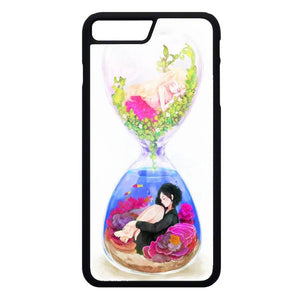 Anime In An Hourglass Art iPhone 7 Plus Case | Frostedcase