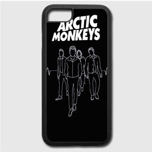 Arctic Monkeys Siluet iPhone 7 Case | Frostedcase