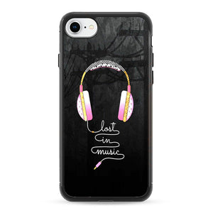 best value 595af 2a4d4 Audifonos Lost In Music iPhone 8 Case | Frostedcase