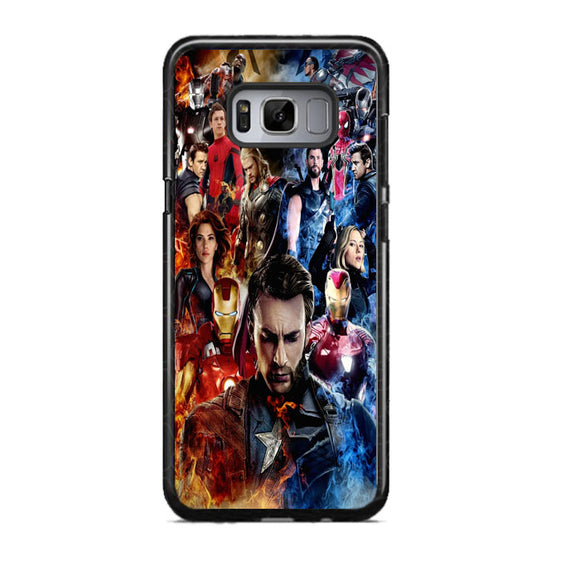 Avenger Infinity War Captain America The First Samsung Galaxy S8 Case | Frostedcase