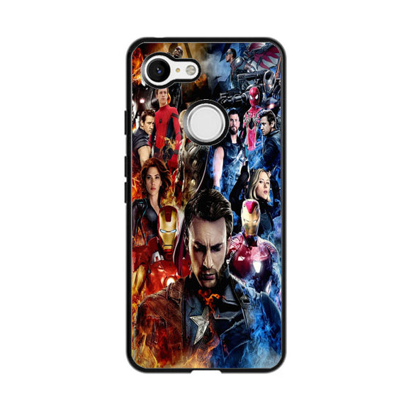 Avenger Infinity War Captain America The First Google Pixel 3 Case | Frostedcase