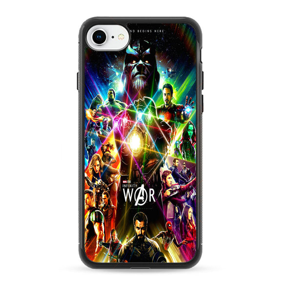 Avengers Infinity War Poster iPhone 8 Case | Frostedcase