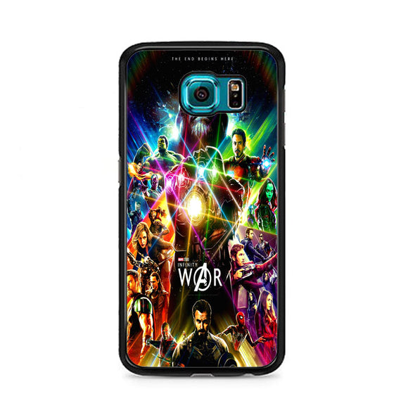 Avengers Infinity War Poster Samsung Galaxy S6 Case | Frostedcase